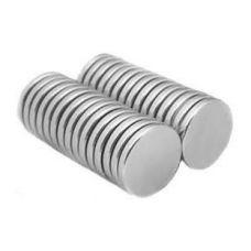"""Магнит неодимовый 5 мм х 1 мм для аккумуляторов с плоским """"+"""" контактом"""
