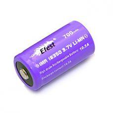 Аккумулятор Efest IMR 18350 B 700 мАч 10,5A Li-Mn высокотоковый