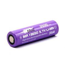 Аккумулятор Efest IMR 18650 F 2500 мАч 35А Li-Mn высокотоковый