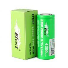 Аккумулятор Efest IMR 26650 F 4200 мАч 20A / 50A Li-Mn высокотоковый