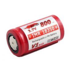 Аккумулятор Efest IMR 18350 F v1 800 мАч Li-Mn