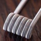 Готовая спираль койл для атомайзера дрипки Fused Clapton coil (Фьюз Клэптон)